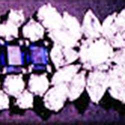 Important Sapphire and Diamond Bracelet in Platinum